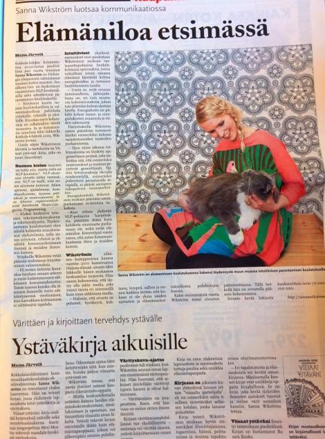 Kokkola-lehti 29.1.2014